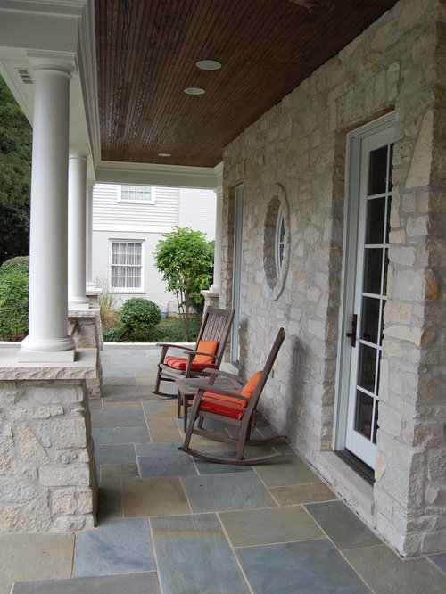 Tiled Porch Houzz