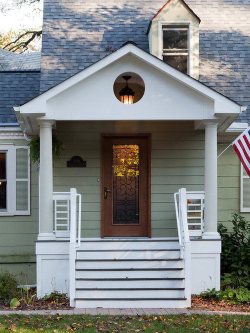Gable Front Porch Houzz