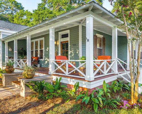 Craftsman Porch Railing Designs   Houzz