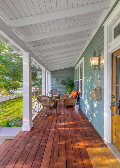 Traditional Porch by Dalrymple | Sallis Architecture
