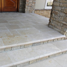 Traditional Porch by Luck Stone Center