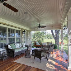 Traditional Porch by PBE Builders