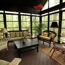 Traditional Porch by Howard Custom Builders/Renovators
