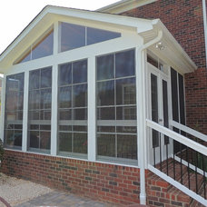 Traditional Porch by Exterior Additions LLC