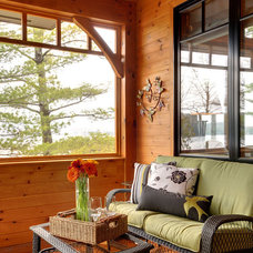 Rustic Porch by Urban Rustic Living