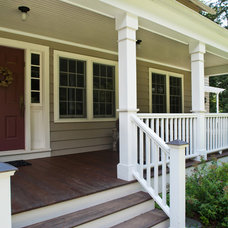 Traditional Porch by Fivecat Studio | Architecture