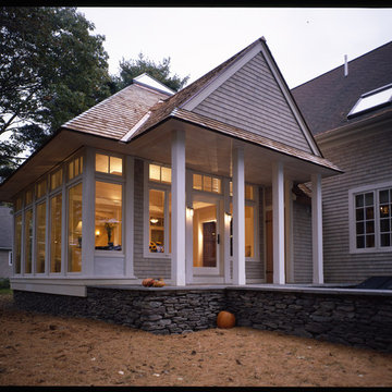 Family room and porch addition