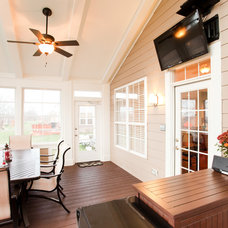 Traditional Porch by Case Design & Remodeling Indy