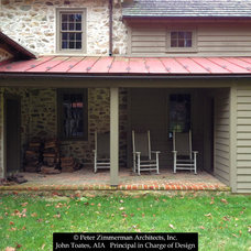 Farmhouse Porch by John Toates Architecture and Design
