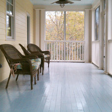 Traditional Porch by Robinson Construction