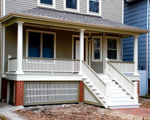 Farm House Style Home Chicago IL in James Har Siding & Trim Exterior