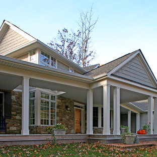 Farmhouse Front Porch Houzz