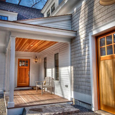 Traditional Porch by Gulfshore Design