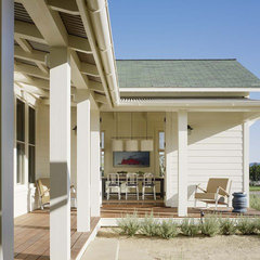 eclectic porch by JMA (Jim Murphy and Associates)