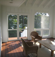 traditional porch by New Urban Home Builders