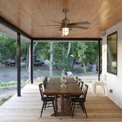modern porch by Rauser Design