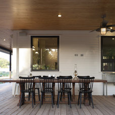 farmhouse porch by Rauser Design