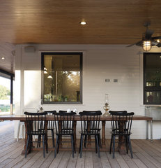 traditional porch by Rauser Design