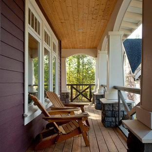 Ispirazione per un portico classico con pedane
