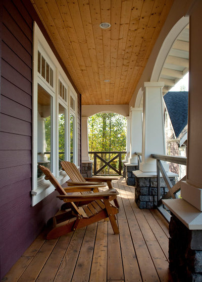 Traditional Porch by Rockridge Fine Homes