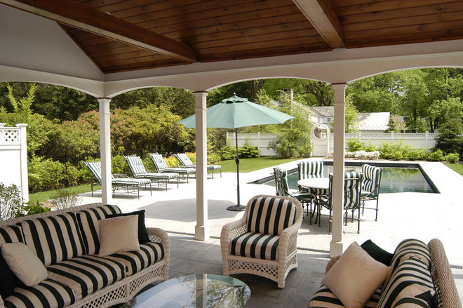 Traditional Porch by Country Club Homes