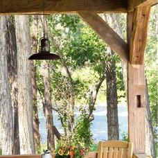 Rustic Porch by Coburn Development