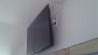 Flat Screen TV install