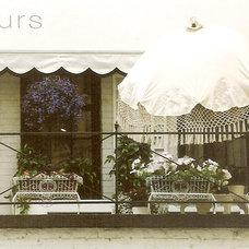 Mediterranean Porch by Suzanne MacCrone Rogers