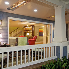 Traditional Porch by Christian Rice Architects, Inc.