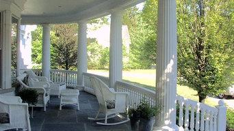 Fluted Porch Columns