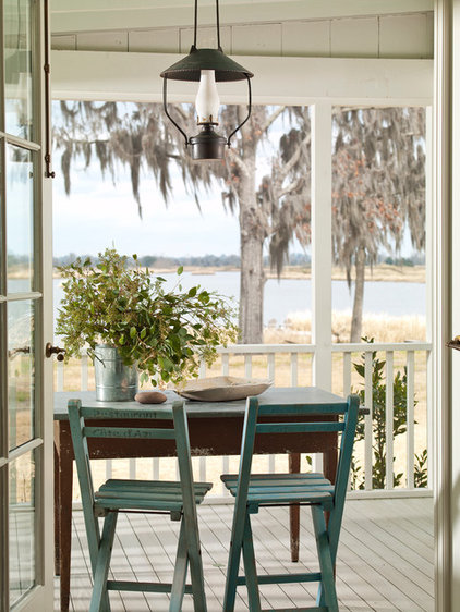 beach style porch by Historical Concepts
