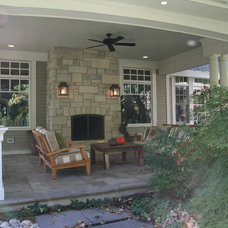Traditional Porch by Cory Smith Architecture