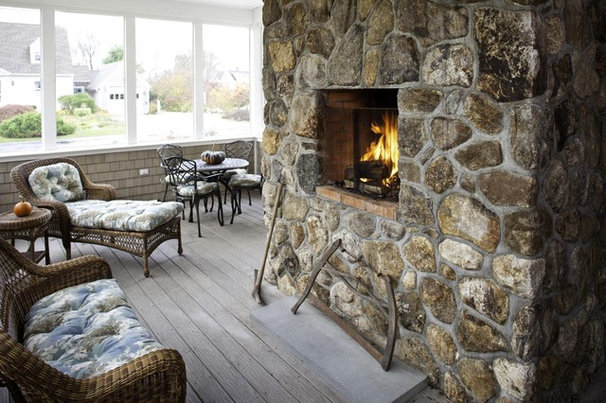 Rustic Porch by Forum Phi - Architecture | Interiors | Planning