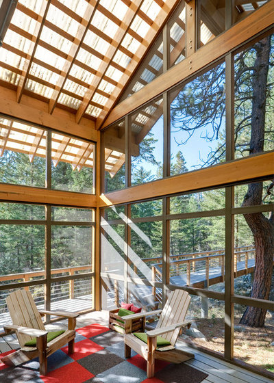 Contemporary Porch by Prentiss Balance Wickline Architects