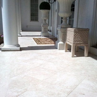 Inspiration for a mediterranean porch remodel in Other