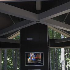 Modern Porch by VV Contracting, Inc