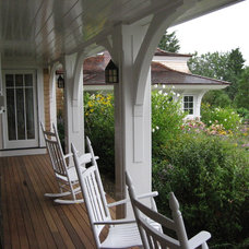 Traditional Porch by Meyer & Meyer, Inc.