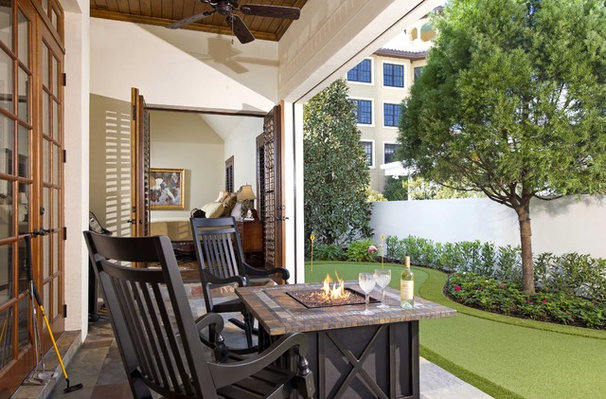 Traditional Porch by Phil Kean Design Group