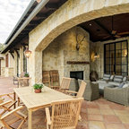 French Moroccan Mediterranean Home On Lake Travis
