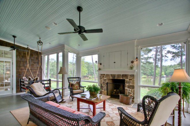 Farmhouse Porch by Historical Concepts