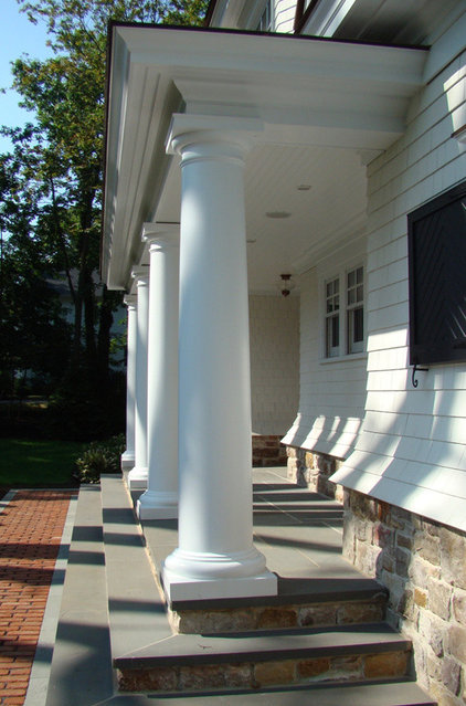 Traditional Porch by Scandic Builders, Inc.