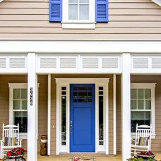 Beach Style Porch by Glenn Layton Homes