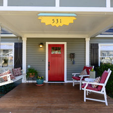 Traditional Porch by Round Here Renovations, LLC