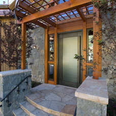Contemporary Porch by Dann Coffey Photography