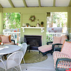 Traditional Porch by Renovation Design Group