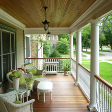 Traditional Porch by Benvenuti and Stein
