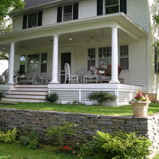 Traditional Porch by Whitefield & Co, LLC