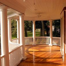 Traditional Porch by Degnan Design Group + Degnan Design Build