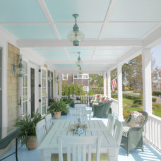 Traditional Porch by CK Architects