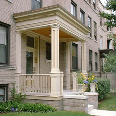 Traditional Porch by Daniel Tornheim Architect